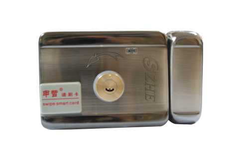 SZHE-210S-P 双头刷卡一体锁