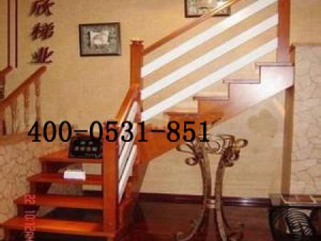 印尼白木楼梯