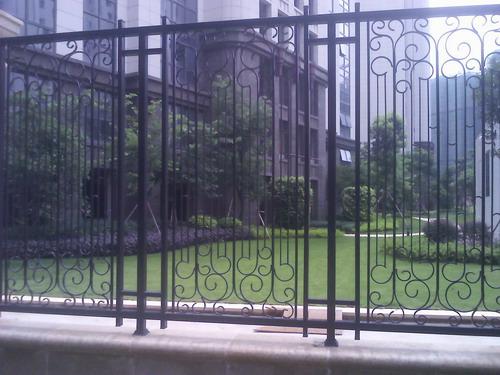 铁艺围栏,栏杆