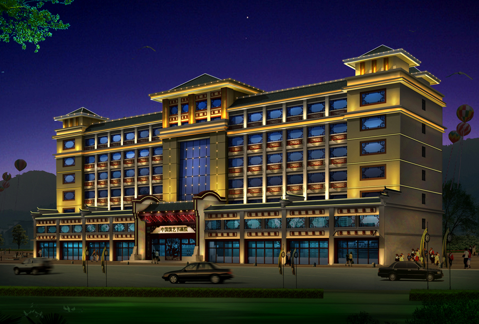贺州酒店亮化工程-南宁专业的广西酒店LED亮化工程