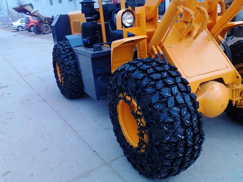 小型装载机轮胎保护链