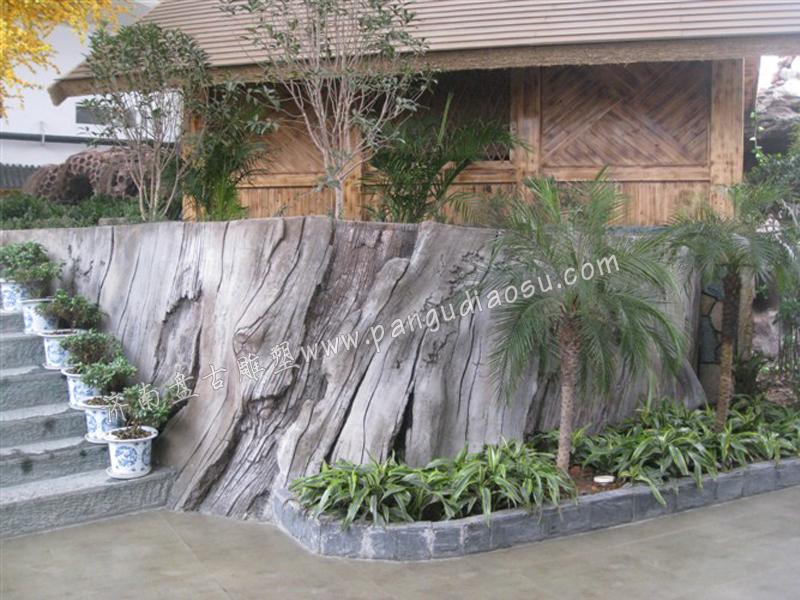 北京商业雕塑水泥雕塑假山假树创意雕塑道具雕塑制作