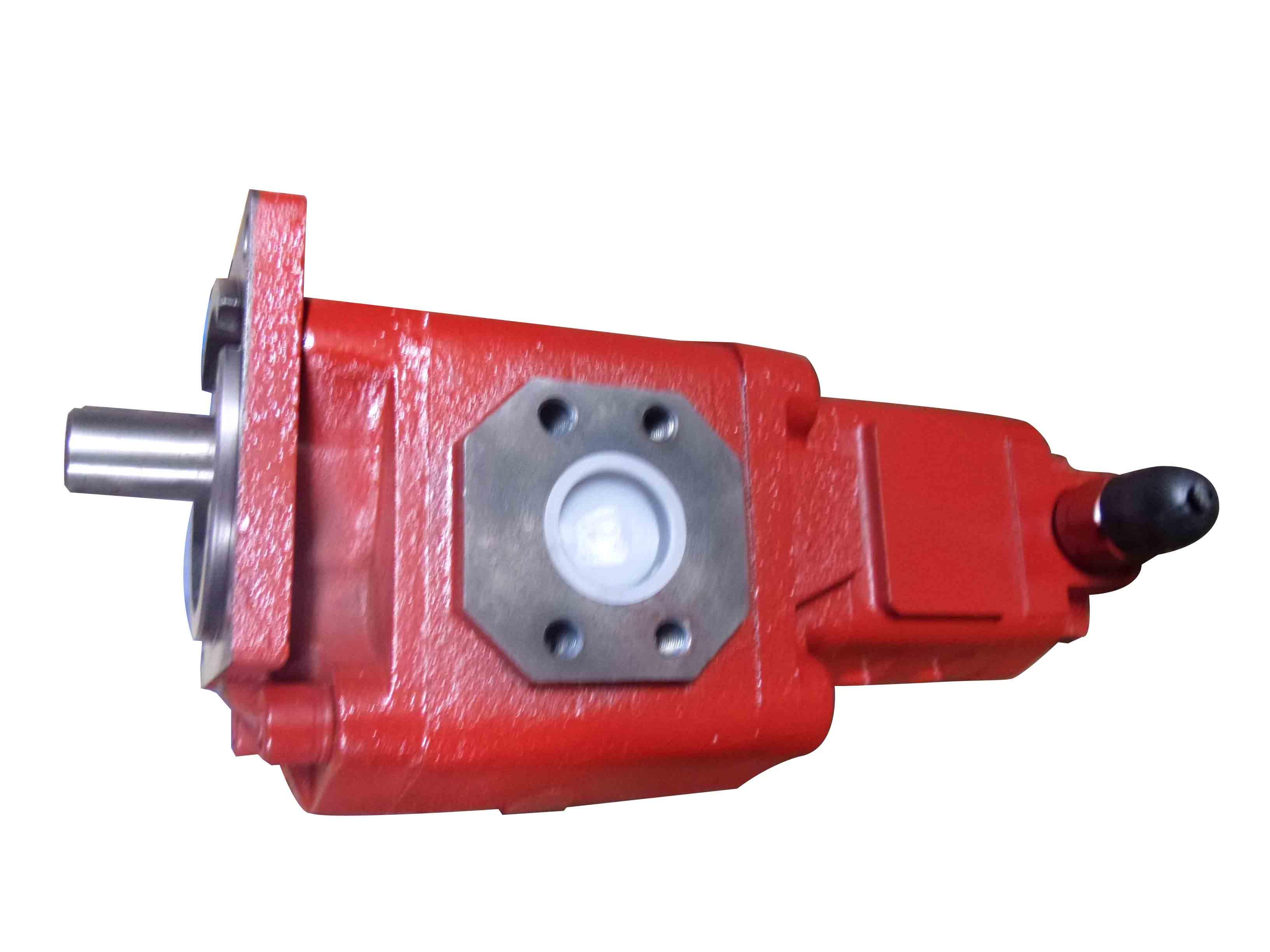 装载机液压油泵双联齿轮油泵