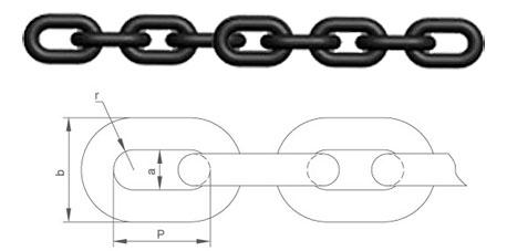 高强度圆环链条