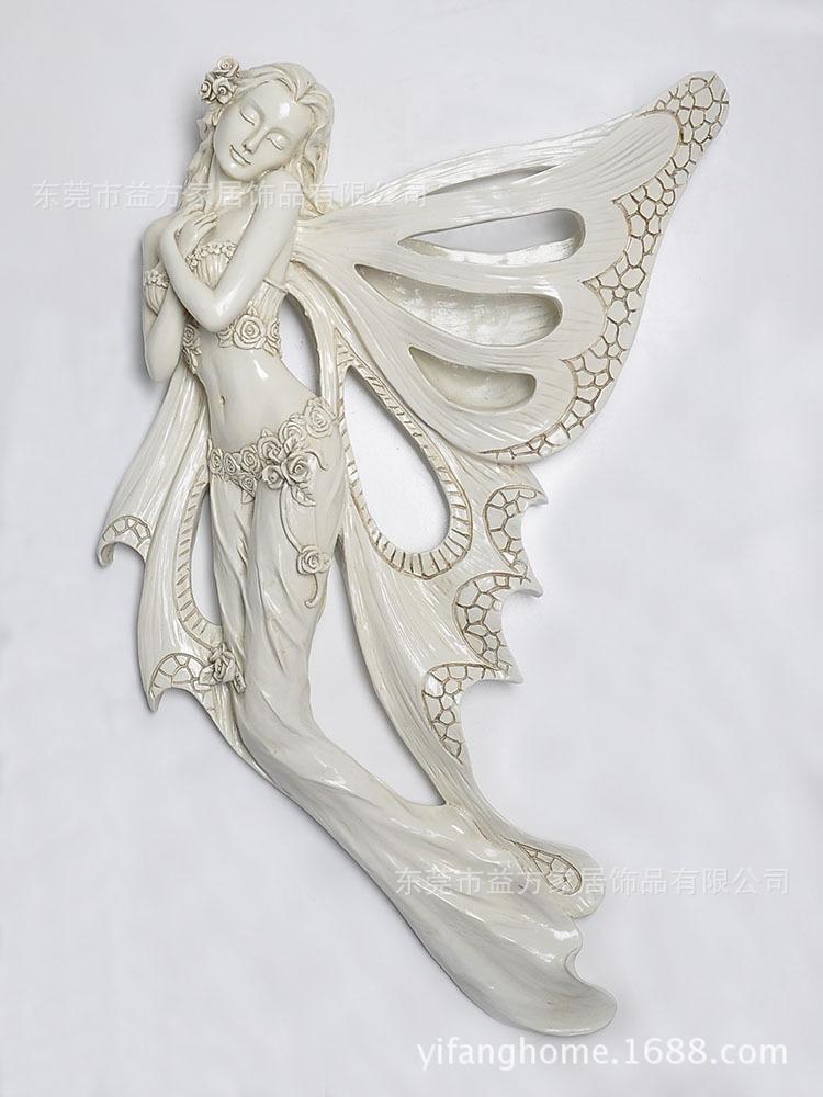 树脂墙上装饰挂件 欧式装饰工艺品