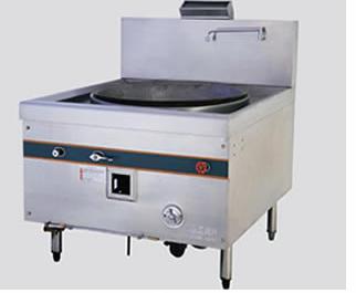 甘肃厨房设备_实用的双尾撑双头炒炉推荐