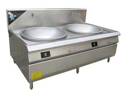 甘肃厨房设备|兰州裕华提供具有口碑的双尾撑双头炒炉