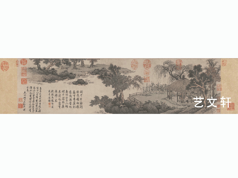 明沈周盆菊图