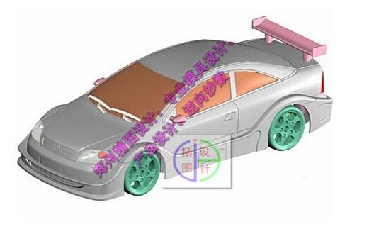 仿真车类产品的逆向工程设计
