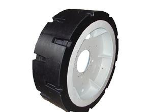 价位合理的实心轮胎价格|选热门聚氨酯实心轮胎,就到河北百一