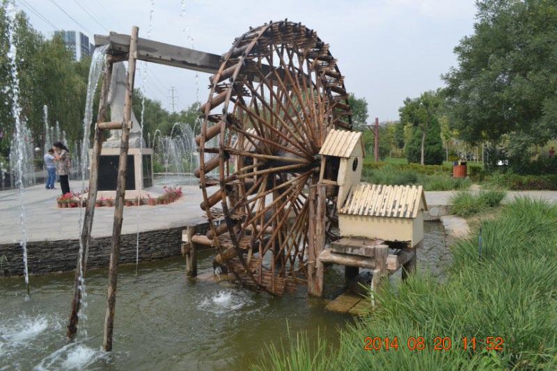 河南景观水车专业定制厂家安徽景观水车哪家好