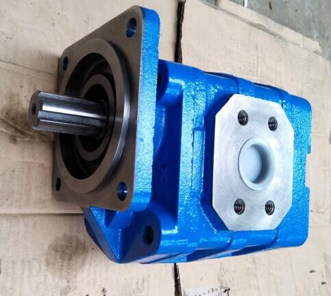 厦工装载机转向齿轮油泵CBGJ2080高压齿轮油泵