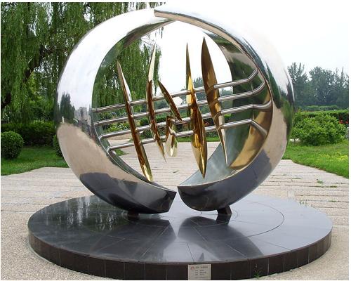 雕塑制作就在济南赛博金刚铁艺