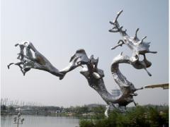 哪家公司有提供好的大型雕塑制作服务|山东变形金刚模型