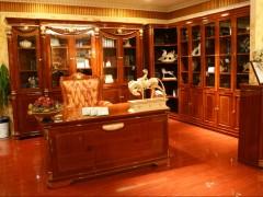 力荐功吉天昊品质一流的纯实木书房家具:优质的代理加盟