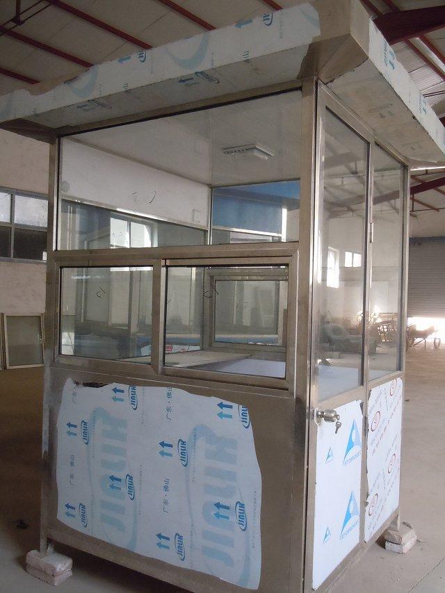 长红电动门提供实惠的岗亭定做服务:不锈钢岗台专卖店