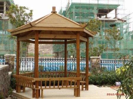 广西木凉亭生产厂家 生产制作安装一站式服务