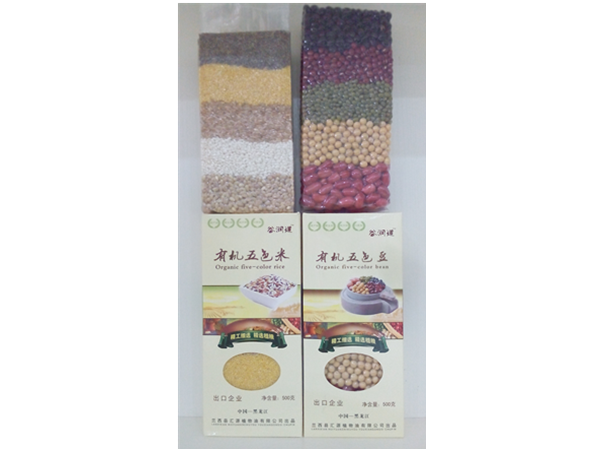 有机五色米|有机五色豆