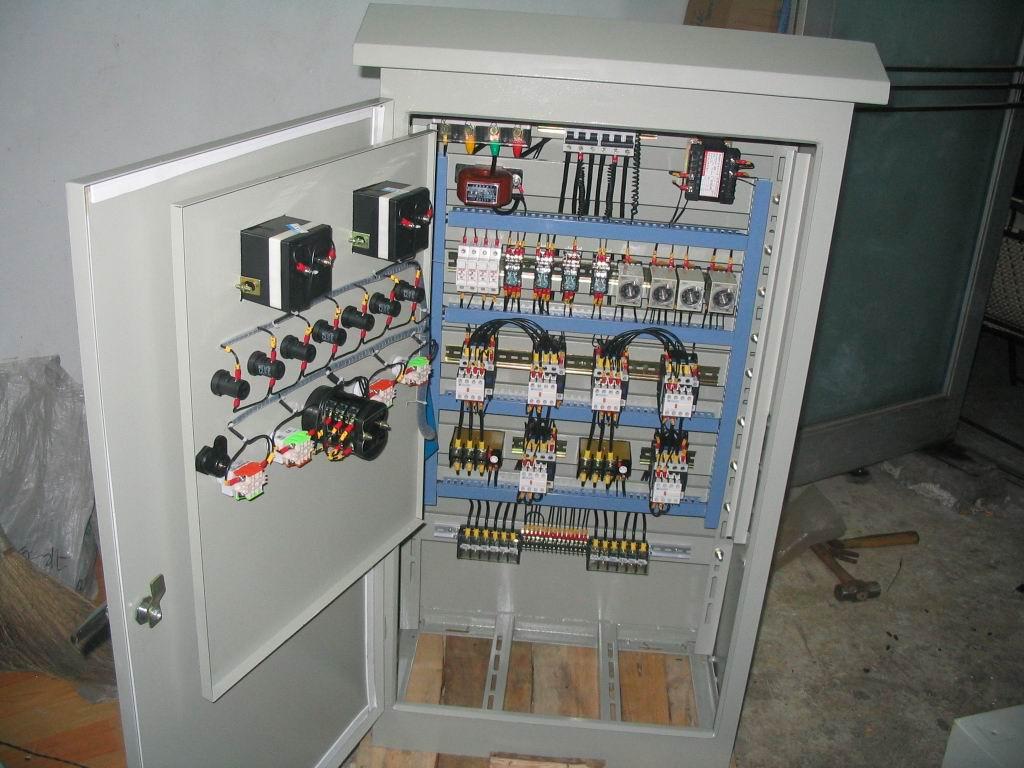 水泵变频器实物接线
