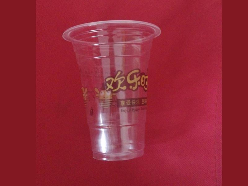 天泉塑料制品供应同行中品质优良的一次性彩印杯,宿州一次性彩印杯