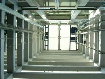 钢结构电梯井道安装