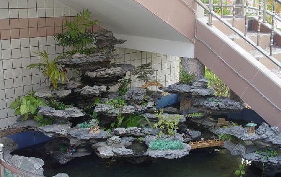 南宁室内假山加工制作 打造绿色环境