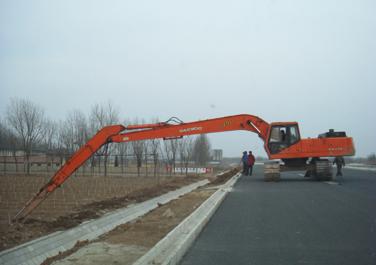 威海24米加长臂挖掘机出租|专业提供24米加长臂挖掘机租赁