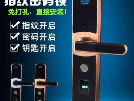 指纹锁密码锁遥控锁唰卡锁的好处