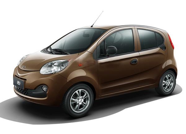 青島哪家生產的奇瑞eQ摩卡棕是有品質的——北京青島電動汽車