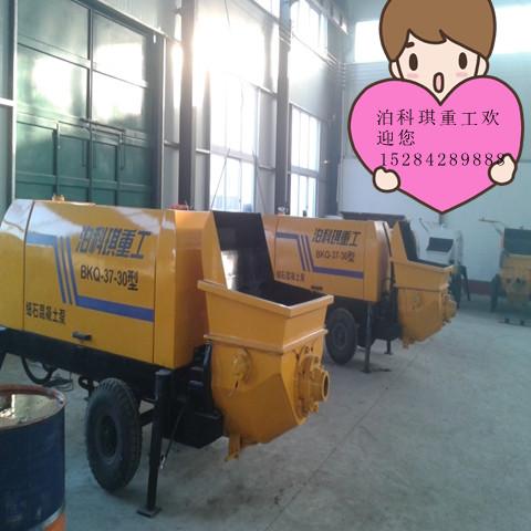 细石混凝土输送泵价格/厂家 细石混凝土泵设备
