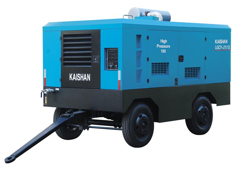 厦门开山空压机—LG柴油系列螺杆空气压缩机