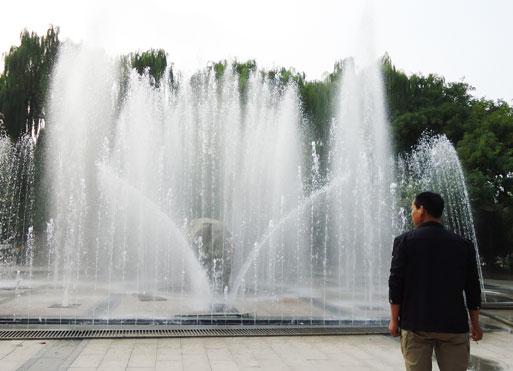 山东旱式喷泉-供应潍坊实用的喷泉