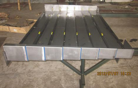 恩硕机床附件公司机床导轨防护罩厂家_850机床导轨防护罩维修