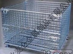想买质量良好的折叠式仓储笼,就来麦仑金属:昌平折叠式仓储笼
