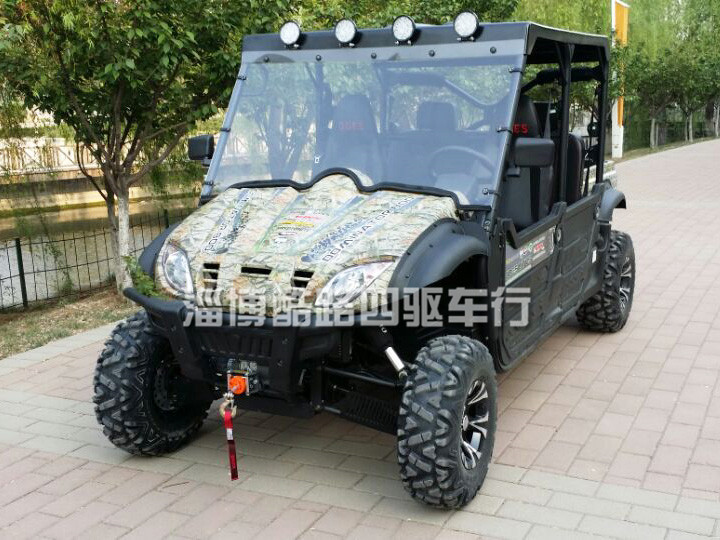 双排800cc复杂地形专用农夫车 四驱全地形越野车