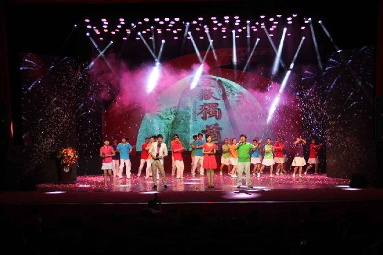 淄博舞台灯光音响设备租赁舞台设计