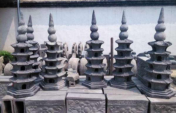 古建宝顶—六角宝塔