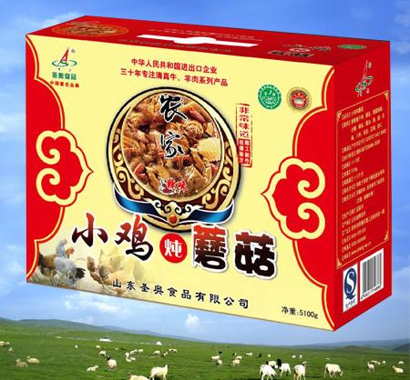 小鸡炖蘑菇生产厂家_圣奥食品热门小鸡炖蘑菇品牌