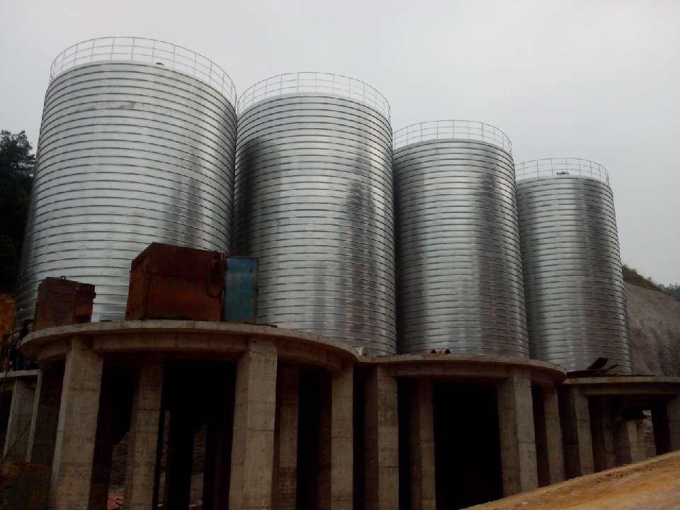 聊城大型钢板库公司