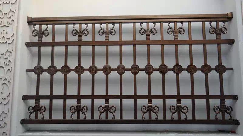 品质好的铝艺栏杆安居护栏供应 豪华铝艺低价批发