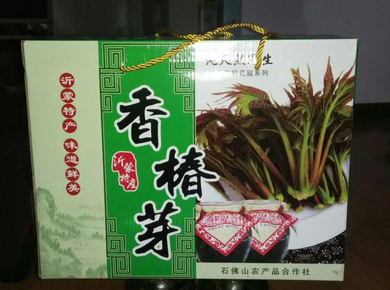 山东红香椿咸菜礼品盒
