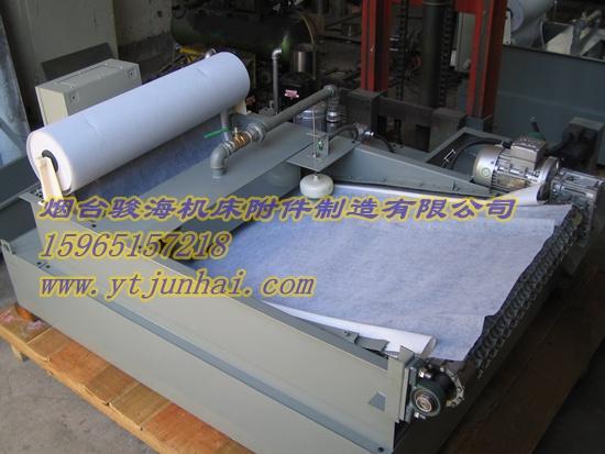HGL1弧网深液位过滤机 精密纸带过滤机 高精密石墨过滤机
