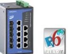 moxa全千兆交换机9个千兆以太网端口EDS-G509