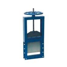 上等手動電動插板閘閥單雙向方形螺旋閘門中匯通用機械供應:螺旋閘門價格