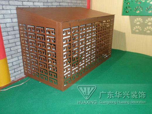 广东华兴铝合金空调罩您的首选,南海铝合金空调罩定做