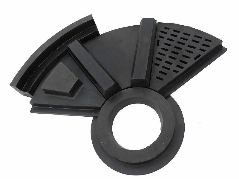 球磨机橡胶衬板