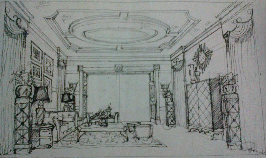 简笔画 手绘 素描 线稿 900_535