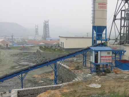 自流式礦井充填站
