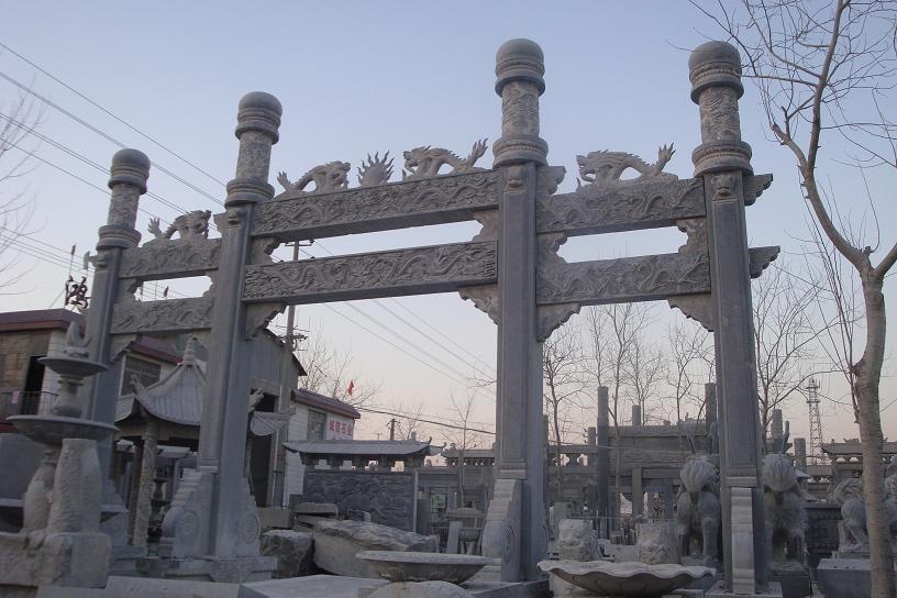 濟寧石雕雕塑價格 石牌坊生產加工