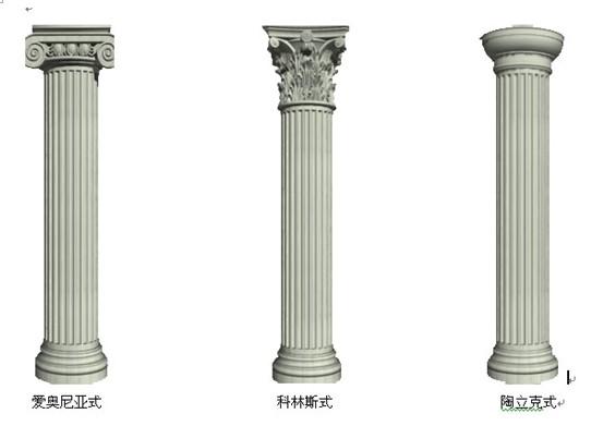 广西欧式构件厂家,罗马柱优选欧风建筑
